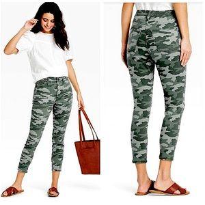 NWT Universal Thread High-Rise Camo Crop Jeans 14